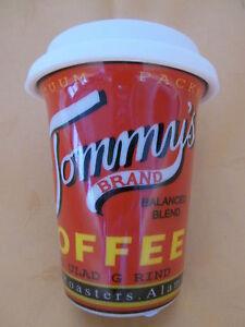 Porzellanbecher Coffee to go Nostalgie, Kaffeebecher mit Silikondeckel