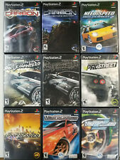 Need for Speed games (Playstation 2) PS2  Tested