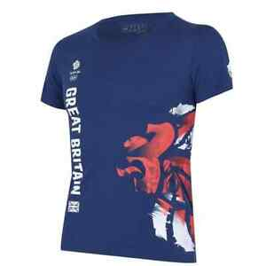 Official Adidas Team GB Olympic Tokyo 2020 Women's Graphic T-Shirt