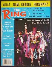JUNE 1977 THE RING MAGAZINE! LEROY NEIMAN ART COVER