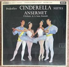 Decca SXL 2306/7 (2) Ansermet Prokofiev Cinderella Suites