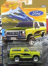 Hot Wheels - Ford Bronco 4x4 - Ford Trucks 2018
