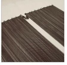 """Cascade Fireplace Replacement Wire Mesh Screens Panels 2) 25"""" High  x  24"""" Wide"""