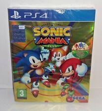 Sonic Mania Plus PS4 NUOVO SIGILLATO ITA