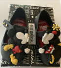 MINI-MELISSA-UltragirlDisney-Black-Toddler-Flat-Shoes-Minnie-Mouse-Size-5-NEW