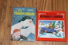 Ladybird Christmas Stories Mr Bumbles Snowman, Raymond Briggs The Snowman