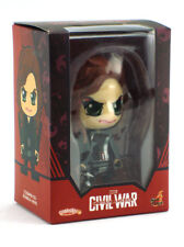 Hot Toys Cosbaby Black Widow Figure Marvel Captain America Civil War New In Box