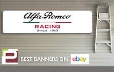 Alfa Romeo Racing Logo Banner for Workshop, Garage, Man Cave, Pit Lane etc