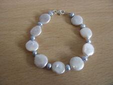 "Freshwater Beaded Cultured 7.5 - 7.99"" Fine Pearl Bracelets"
