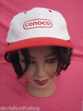 Conoco Gas Station Card You Had in Mind Red & White Baseball Cap Hat Adjustable