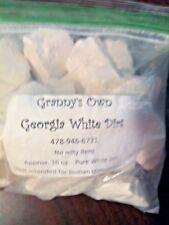 Georgia White Kaolin Clay Chunks White Dirt FREE Shipping