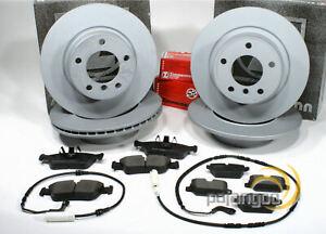 Mini Clubman [F54] - Zimmermann Bremsscheiben Bremsen Warnkabel vorne und hinten