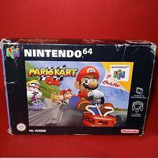 VINTAGE 1997 NINTENDO 64 N64 MARIO KART 64 CARTRIDGE VIDEO GAME PAL BOXED