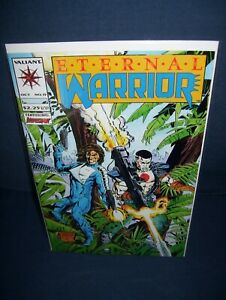 Eternal Warrior #15 Valiant Comics 1993  with Bag and Board