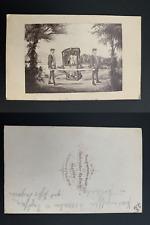 Hallweg, Dresden, Amélie de Bavière, reine de Saxe Vintage albumen print. CDV.
