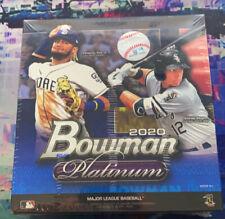 2020 Topps Bowman Platinum Baseball Mega Box 1 Auto + 2 Exclusive Parallels! HOT