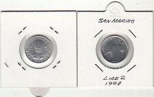 SAN MARINO LIRE 2 ITALMA 1997 FDC UNC LA LETTERATURA DANTE
