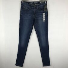 Women's Mossimo Mid-Rise Skinny Jeans Nighttime Blue NWT SIZE 0 Regular