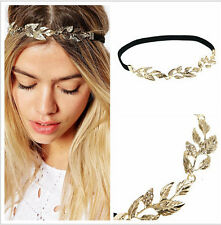 Leaf Leaves Laurel Greek Costume Band Wedding Bride Crown Hair Headband