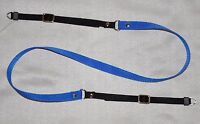 BLUE/BLACK CLASSIC W 15mm SHOULDER NECK STRAP RING END FOR DIGITAL CAMERA *NC95*