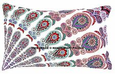 Mandala Indian Ethnic Cushion Cover Decorative Cotton Pillow Sham Pouf Case