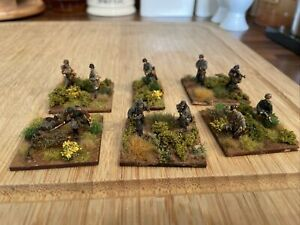 Caesar Miniatures 1/72 WW2 Well Painted And Based German Infantry X13