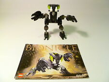LEGO BIONICLE BOHROK NUHVOK 8561 MANUAL & KRANA MASK 100% COMPLETE GUARANTEE