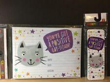 Teacher Award / Incentives - Positive Cat-titude Bookmarks & Certificate Pack