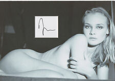 DIANE KRUGER Signed 12x8 Photo Display INGLOURIOUS BASTERDS COA