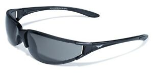Shatterproof Tinted Category 3 UV400 Motorcycle Sunglasses/Biker Glasses + Pouch