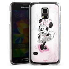 Samsung Galaxy S5 mini Handyhülle Case Hülle - Minnie Watercolor