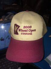 trucker hat baseball cap 2003 Wheat open starane MN