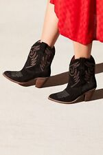 NIB Jeffrey Campbell & Free People West Side Western Boot Size 7 Black $228