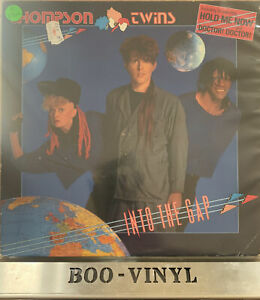 Into The Gap  Thompson Twins Vinyl Record 80s Lp EX/VG+ Con German Press Rare