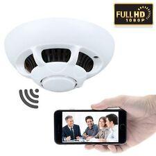 1080P caché CCTV UFO Détecteur De Fumée espion Wi-fi Enregistreur Caméra Vidéo