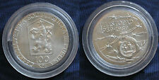 MONETA COIN CECOSLOVACCHIA CESKOSLOVENSKA 100 KORUN 1989 (LISTOPAD) SILVER #2