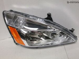 2003-2007 HONDA ACCORD SEDAN HALOGEN HEADLIGHT RIGHT HAND PASSENGER 317-1131R-UC