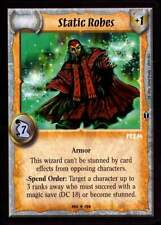 Warlord CCG - Warlord Saga of the Storm: Static Robes (Rare Item CA)