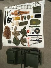 Vintage Action Man Jeep Hasbro 1975 Including Action Man And Extras