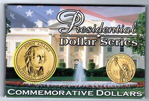 2007 PRESIDENTIAL DOLLAR SERIES JOHN ADAMS SET.