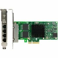 Intel /Dell I350-T4 PCI-E PCI-Express Four RJ45 Gigabit Ports Server Adapter