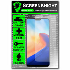 ScreenKnight OnePlus 6 / SIX / VI - FRONT SCREEN PROTECTOR - Military Shield