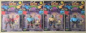 1994 Playmates Teenage Mutant Ninja Turtles Star Trek Set of 4 Figure New In Box