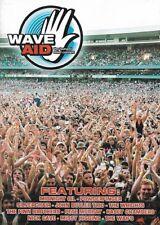 WAVE AID: TSUNAMI REFIEF CONCERT- 2 DVD SET, MIDNIGHT OIL, POWDERFINGER,REGION 0