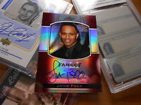Jamie Foxx  AUTO RED 1/5 or 5/5 autograph signed LEAF 2011 Fans of Muhammad ALI