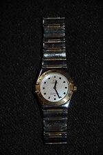 OMEGA My Choice Mini Constellation Two Tone 18kt Gold Steel Ladies Watch 1361.71