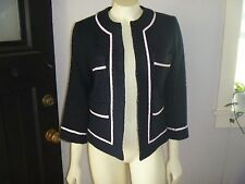NWT MIXIT SZ 8 BLACK WITH PINK TRIM ON WOVEN FABRIC