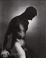 1936/81 Vintage MALE NUDE Photo Engraved Duotone Art 16x20 By GEORGE PLATT LYNES