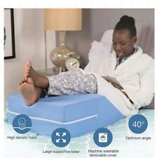 Leg Elevation Wedge Elevator Ortho Pillow Rest Improve Circulation Back Pain Dmi