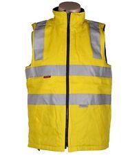 Hard Yakka Cotton Drill Foundations Vest (s Yellow) 3m Reflective Tape